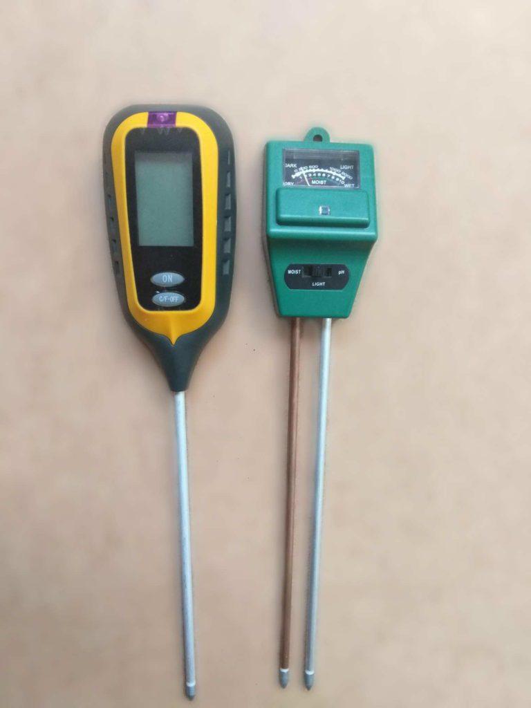 Бытовые измерители кислотности почвы